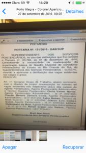 Portaria 161-2016 - Criação GT - Remanejo Vagas.