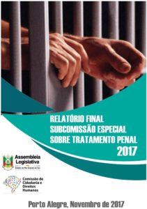 Lançamento Relatório Final da Subcomissão de Tratamento Penal